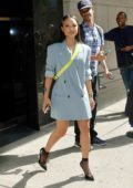 Karrueche Tran made an appearance at The Wendy Williams Show in New York