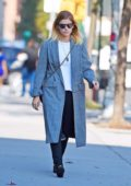 Kate Mara spotted returning to her hotel in New York City