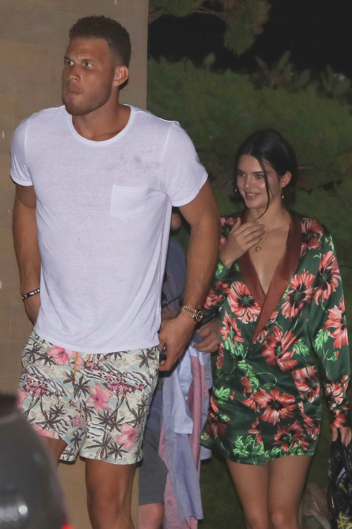 Kendall Jenner on a Night out with Blake Griffin in Malibu, California