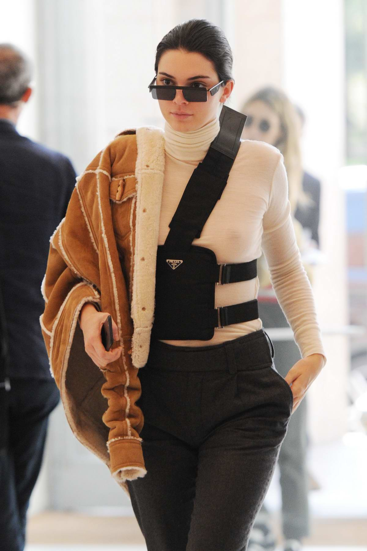 Kendall Jenner out and about during Fashion Week in Milan, Italy