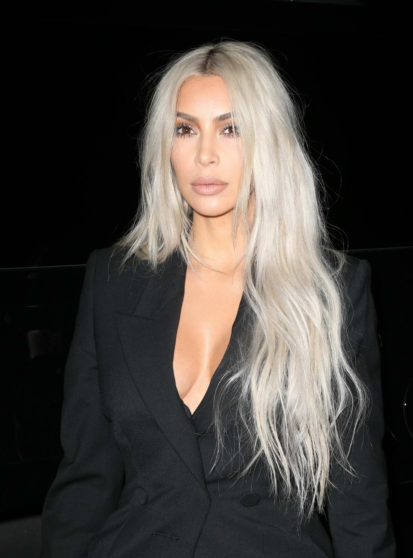 Kim Kardashian New York Fashion Week September Alexander Wang