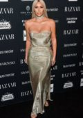 Kim Kardashian at the Harper's Bazaar ICONS party at New York Fashion Week