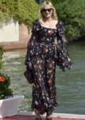 Kirsten Dunst arrives at Excelsior Hotel during the 74th Venice Film Festival in Venice, Italy