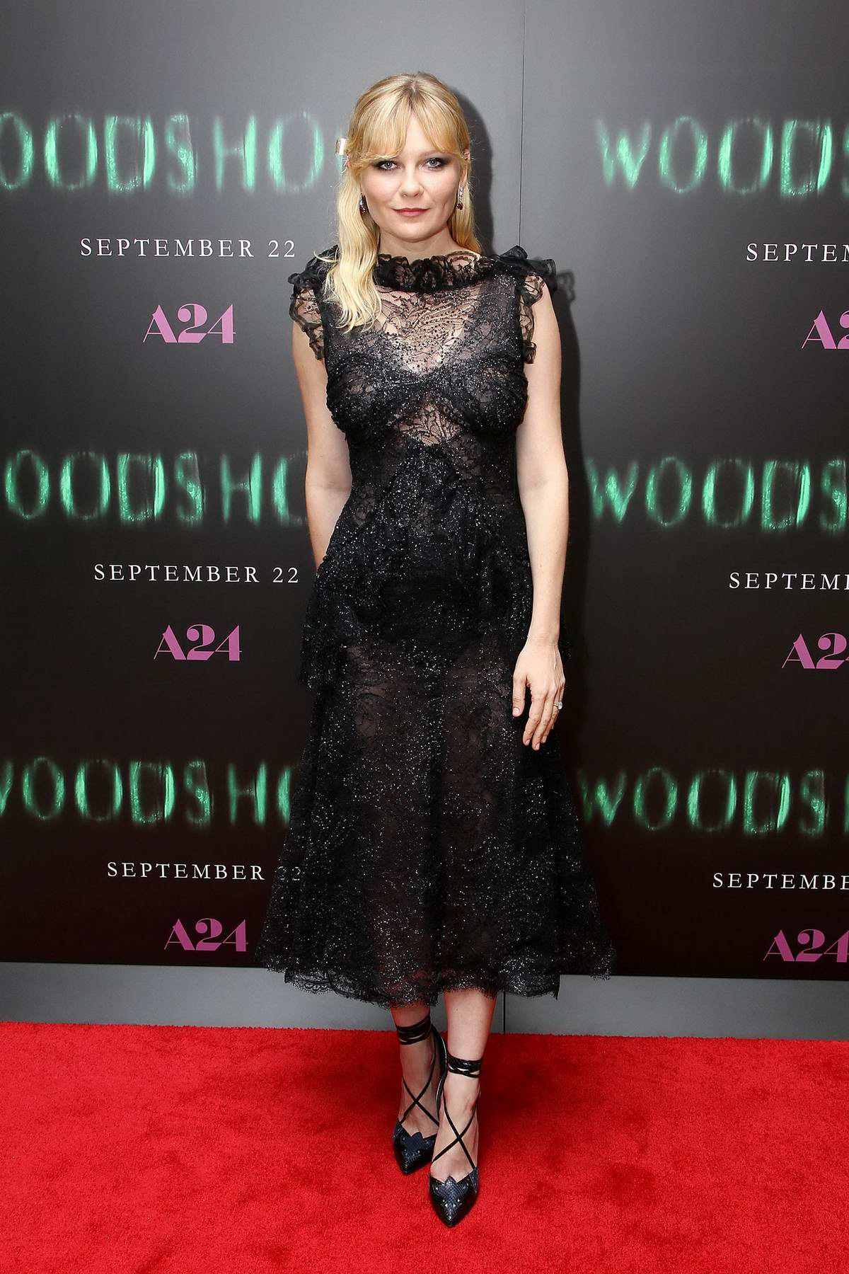 Kirsten Dunst at the screening of 'Woodshock' in New York City