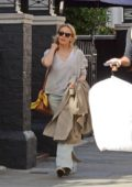 Kylie Minogue is spotted leaving a Hotel in Central London
