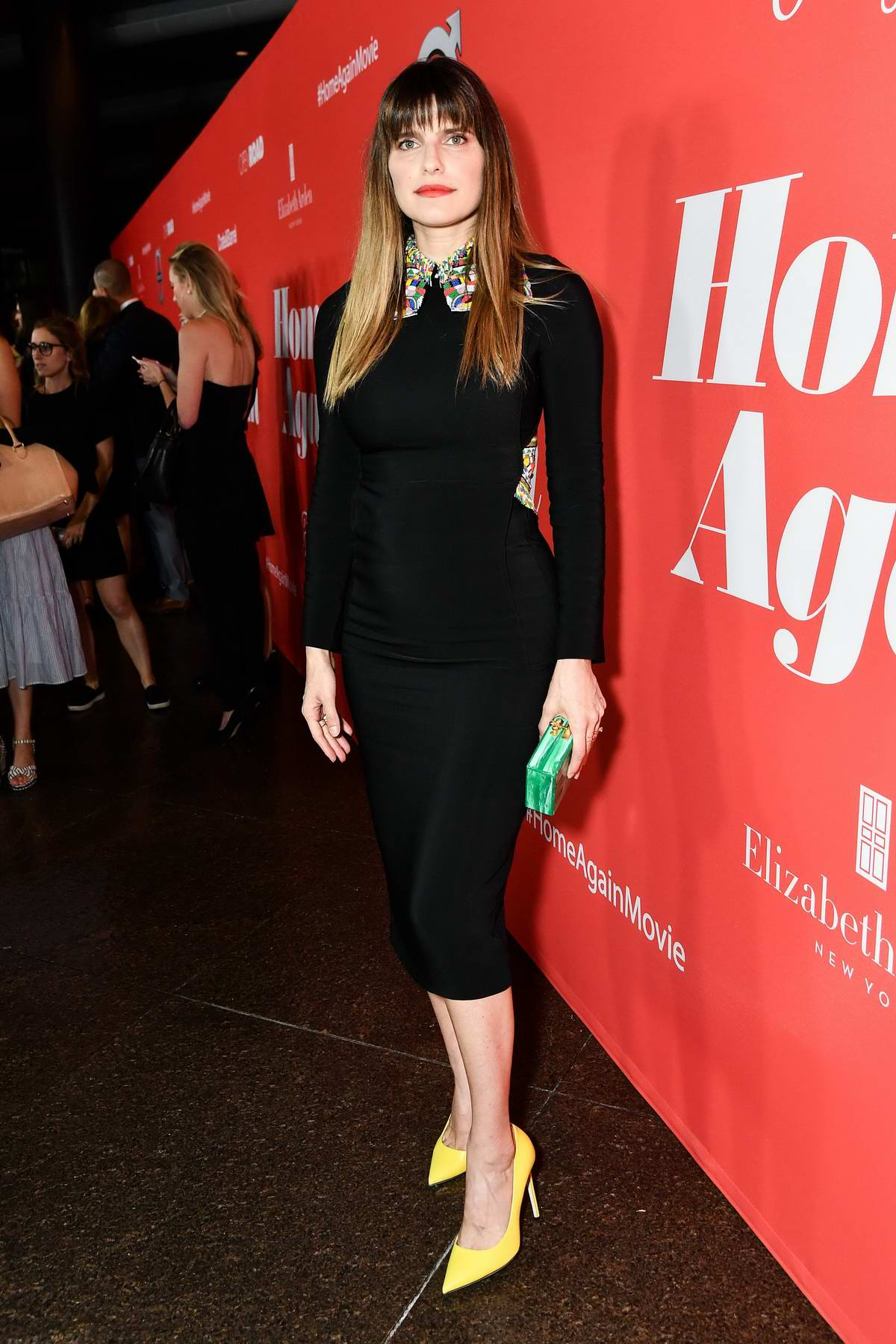 Lake Bell at the premiere of 'Home Again' in Los Angeles
