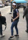 Lana Del Rey arrives at Bill Graham Civic Auditorium ahead of her show in San Francisco, California