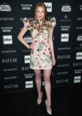 Larsen Thompson at the Harper's Bazaar ICONS party at New York Fashion Week
