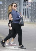 Lauren Goodger leaving a Cosmetic Surgery Clinic in Essex, UK