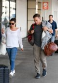 Lea Michele is spotted with New Man Zandy Reich Heading off on Vacation Together