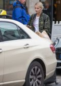 Lena Gercke out and about at Mitte in Berlin, Germany