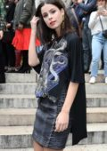 Lena Meyer-Landrut at the Balmain spring summer 2018 show during Paris Fashion Week, France
