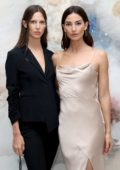Lily Aldridge at Jason Wu Fragrance dinner, spring summer 2018 during New York Fashion Week