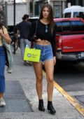 Lorena Rae doing some shopping in SoHo, New York City