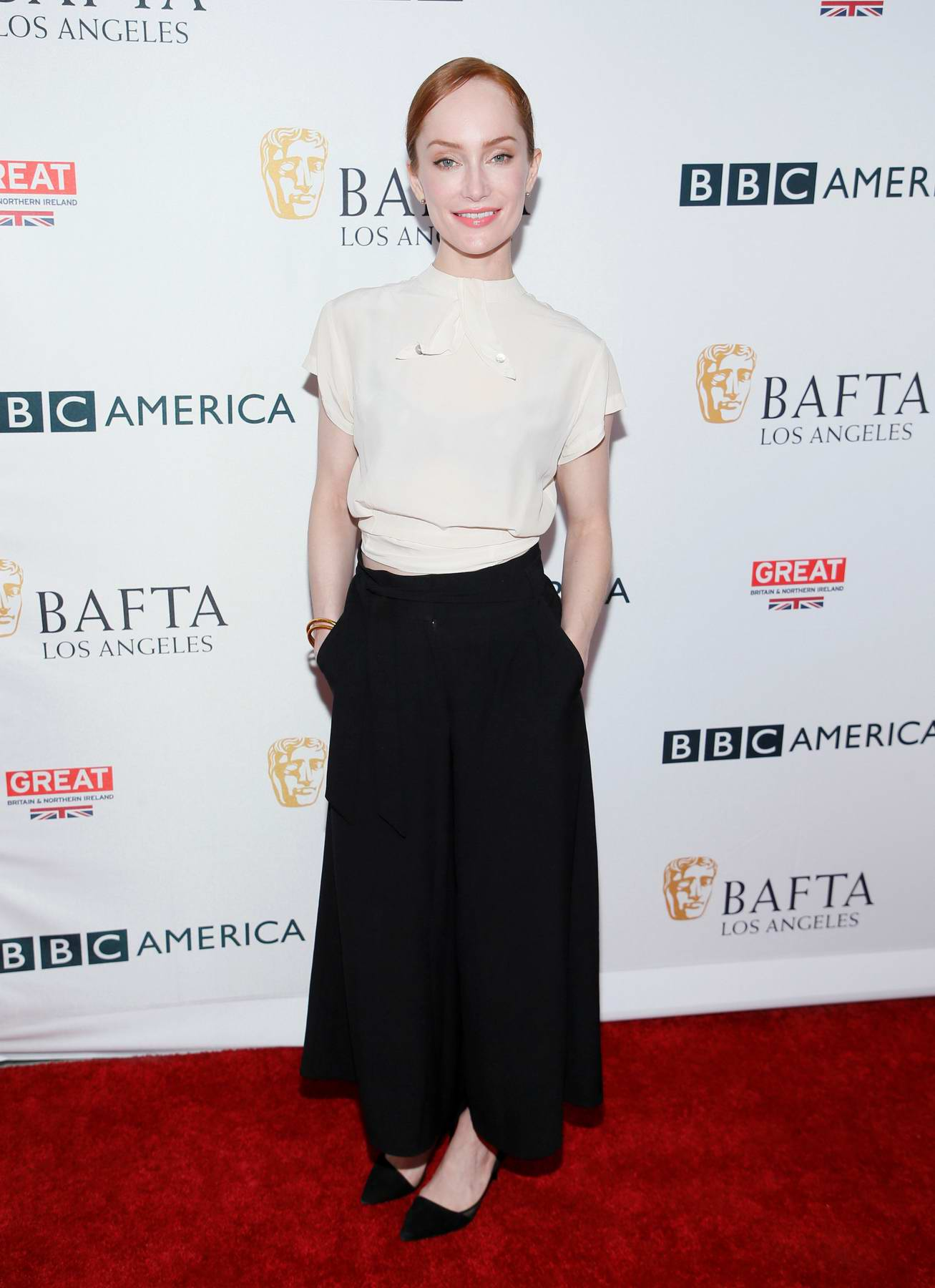 Lotte Verbeek at BBC America BAFTA TV Tea Party in Los Angeles
