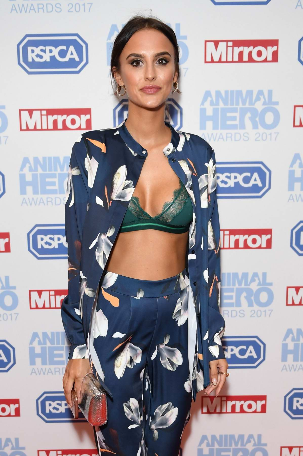 Lucy Watson at the Animal Hero Awards 2017 held at the Grosvenor House in Park Lane, London