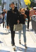 Madelaine Petsch and Travis Mills spotted shopping at the Grove in Hollywood, Los Angeles