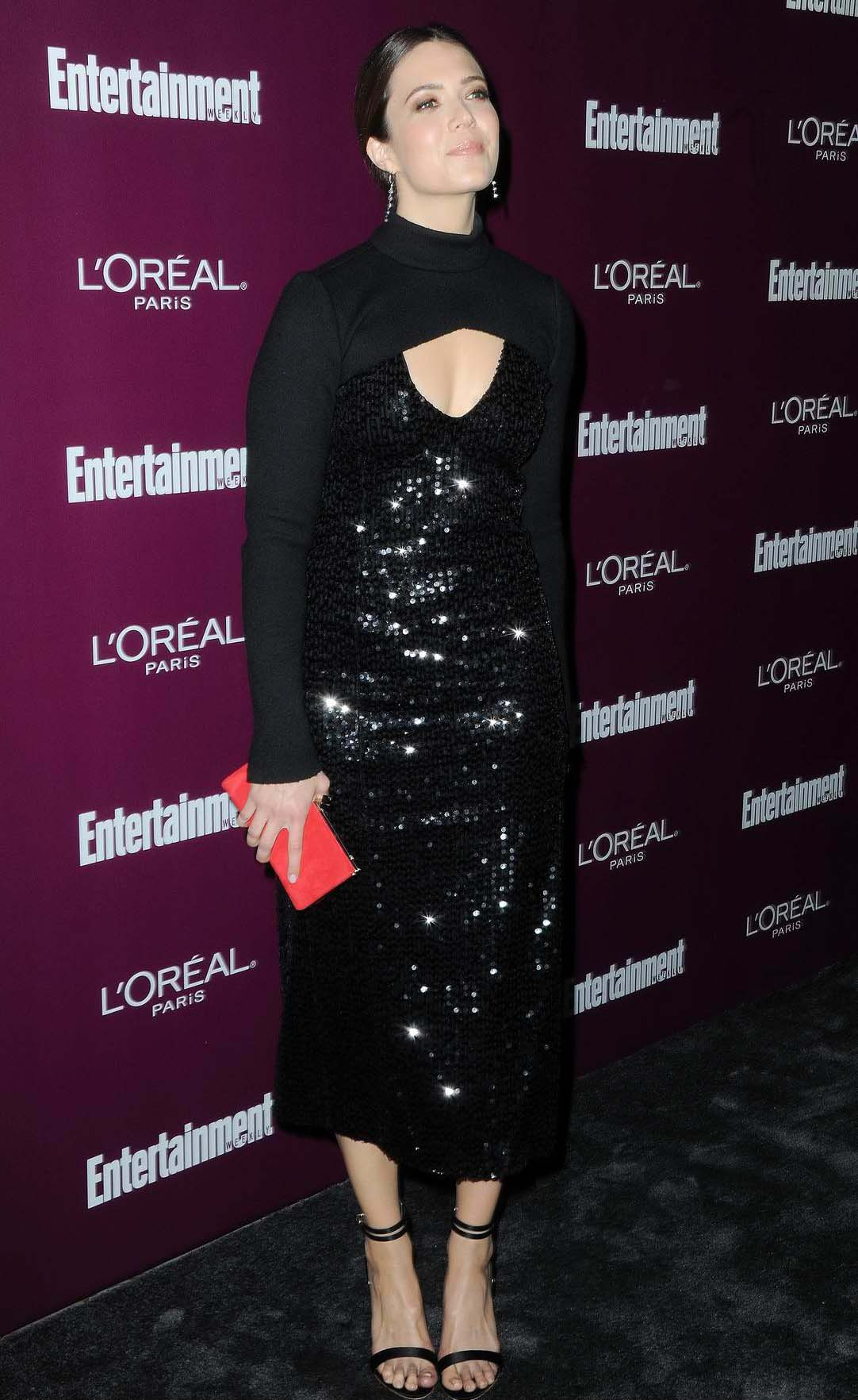 Mandy Moore at the 2017 Entertainment Weekly Pre-Emmy party in Los Angeles