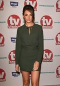 Megan McKenna attends the TV Choice Awards 2017 held at The Dorchester in London