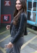 Megan McKenna outside ITV Studios in London