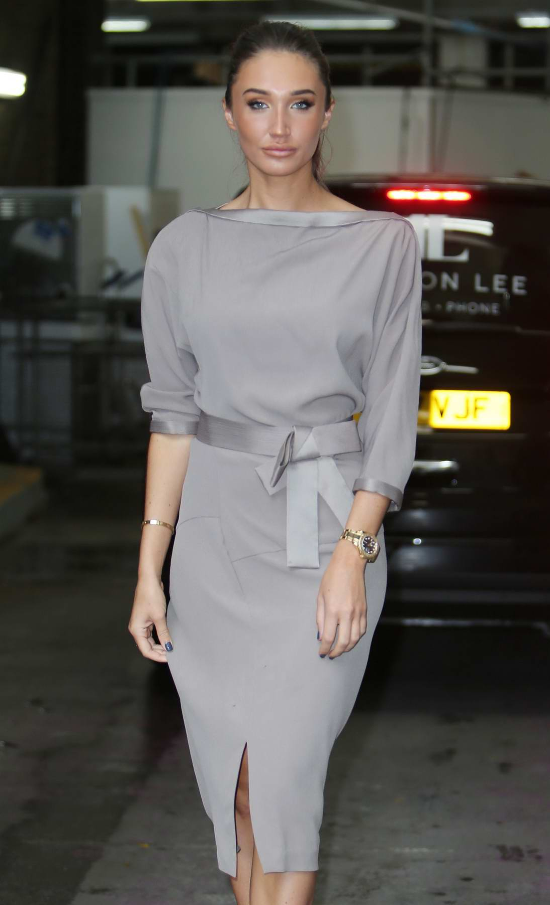 Megan McKenna spotted outside ITV Studios in London