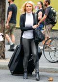 Megyn Kelly leaving the NBC Studios in New York City