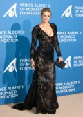 Michelle Hunziker attends Monte-Carlo Gala for The Global Ocean in Monte-Carlo, Monaco