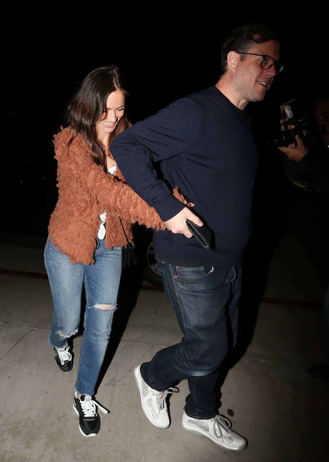 Minka Kelly heads to Harry Styles concert held at the Greek Theatre in Los Angeles