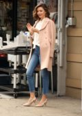 Miranda Kerr is spotted out running errands in New York