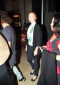 Molly Quinn goes to see Hamilton with Friends in Los Angeles