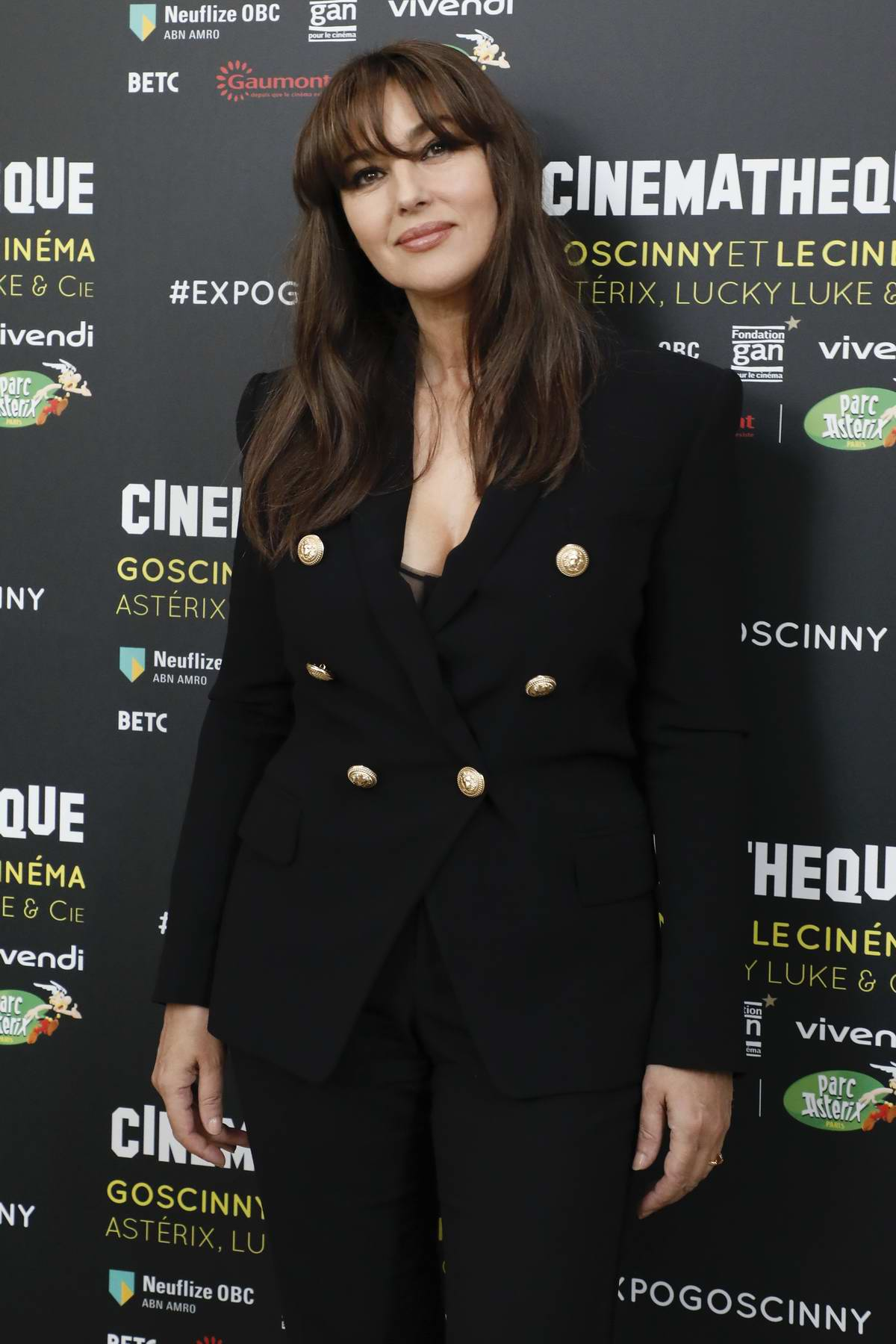 Monica Bellucci at La Cinématheque of Paris, France