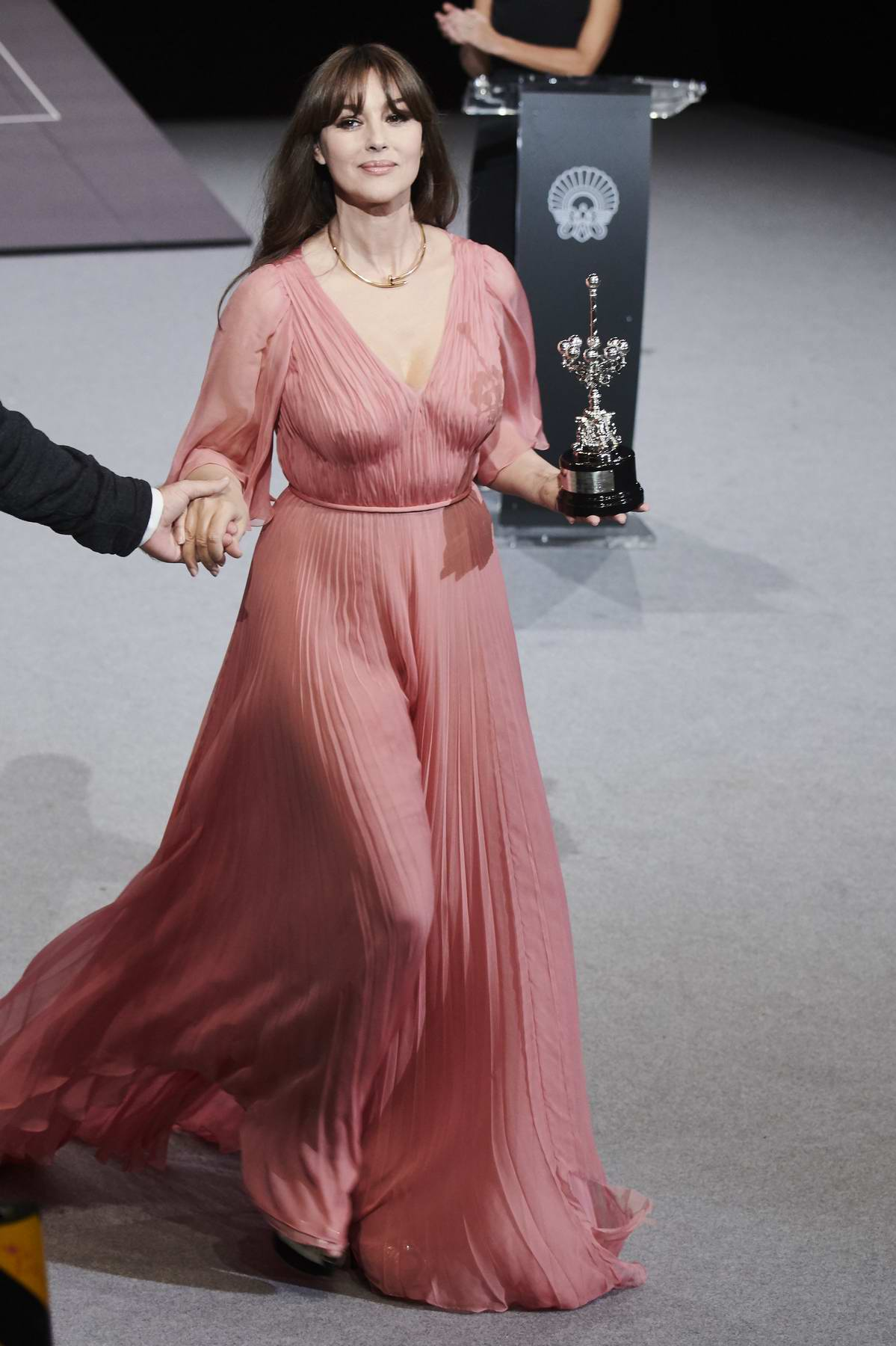 Monica Bellucci Receives Donostia Award During 65th San