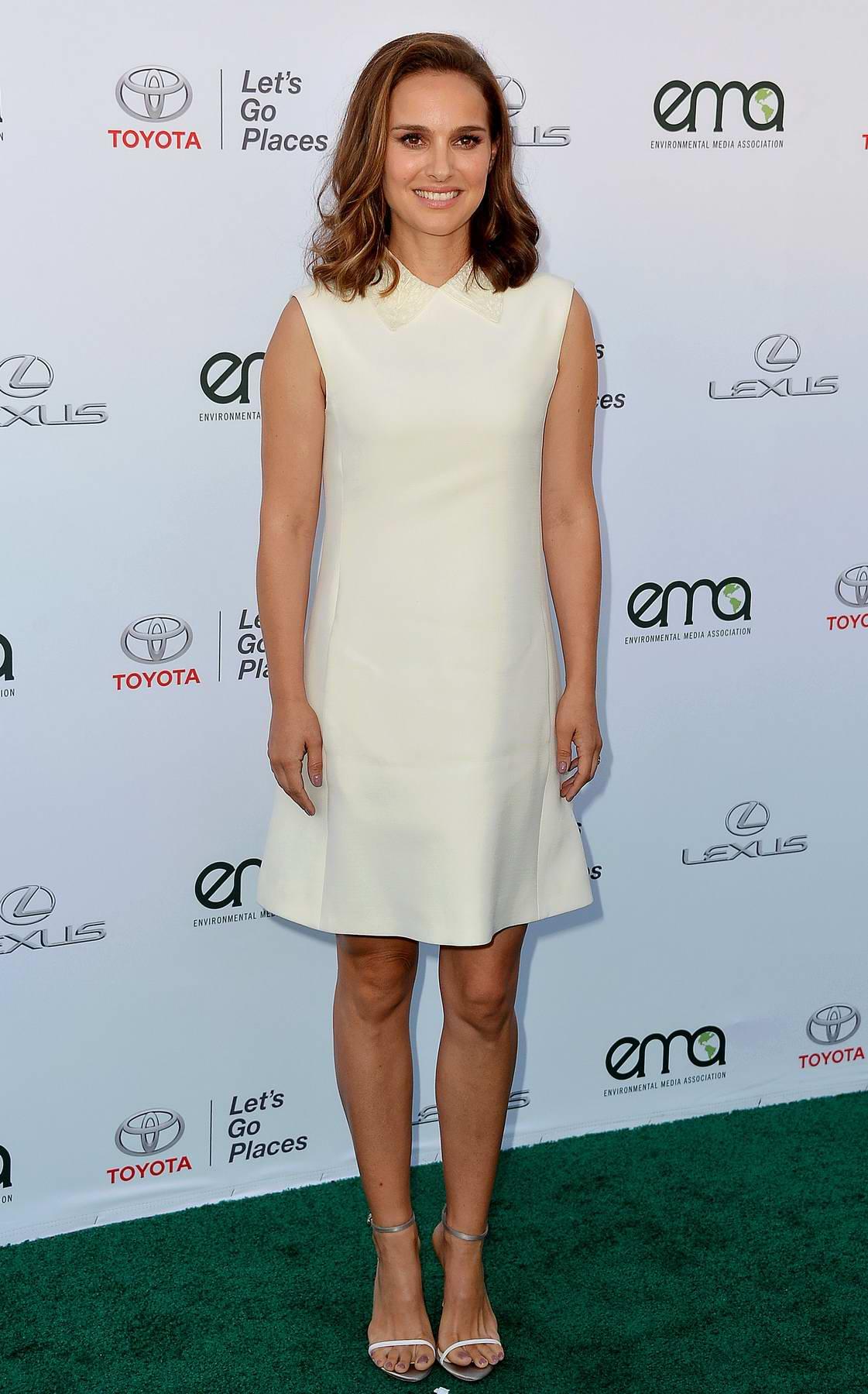 Natalie Portman at the Environmental Media Association Awards in Los Angeles
