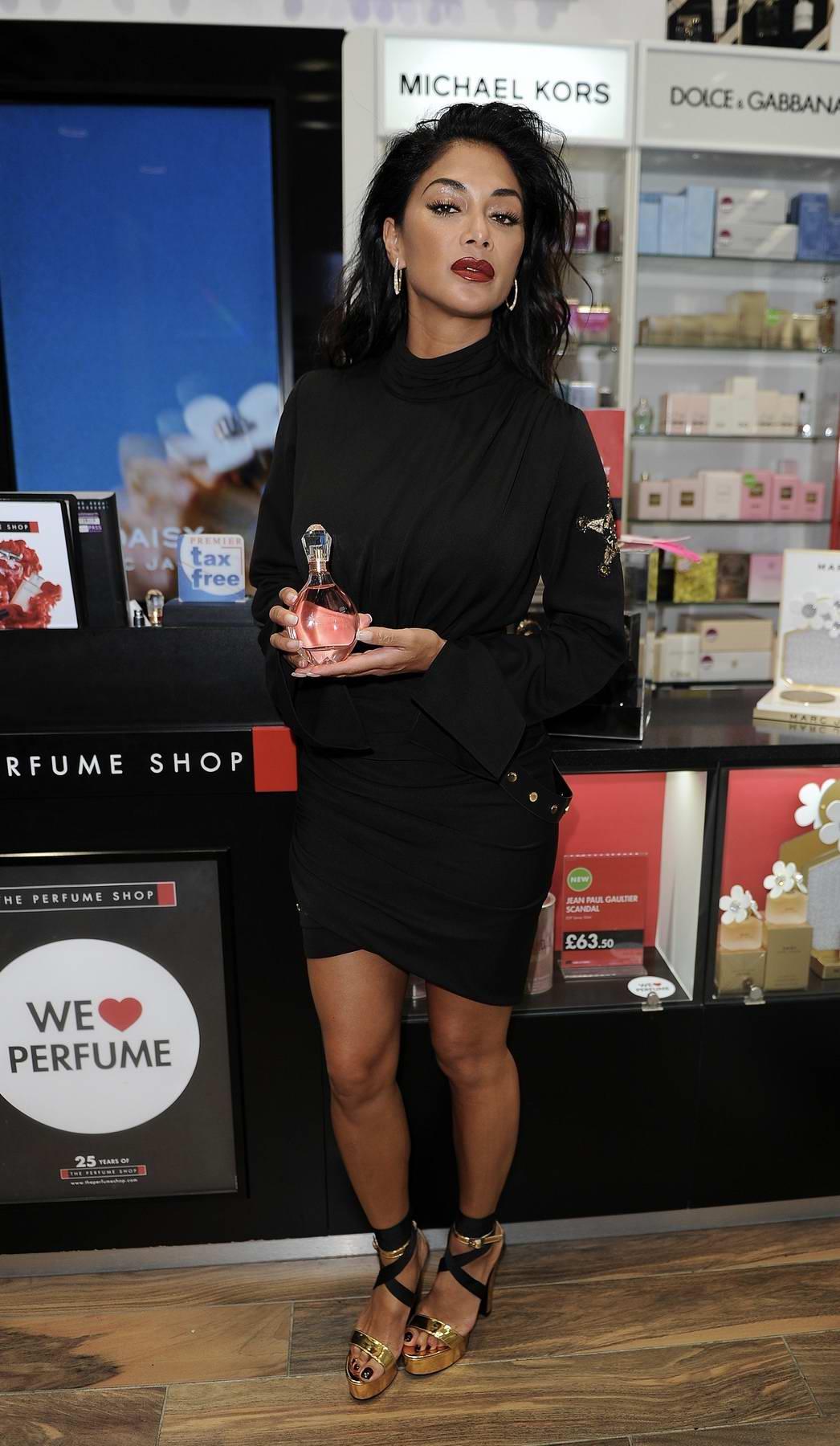 Nicole Scherzinger promoting her perfume CHOSEN in Birmingham, UK