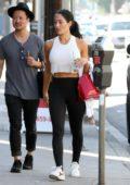 Nikki Bella seen arriving for another day of dance practice in Los Angeles