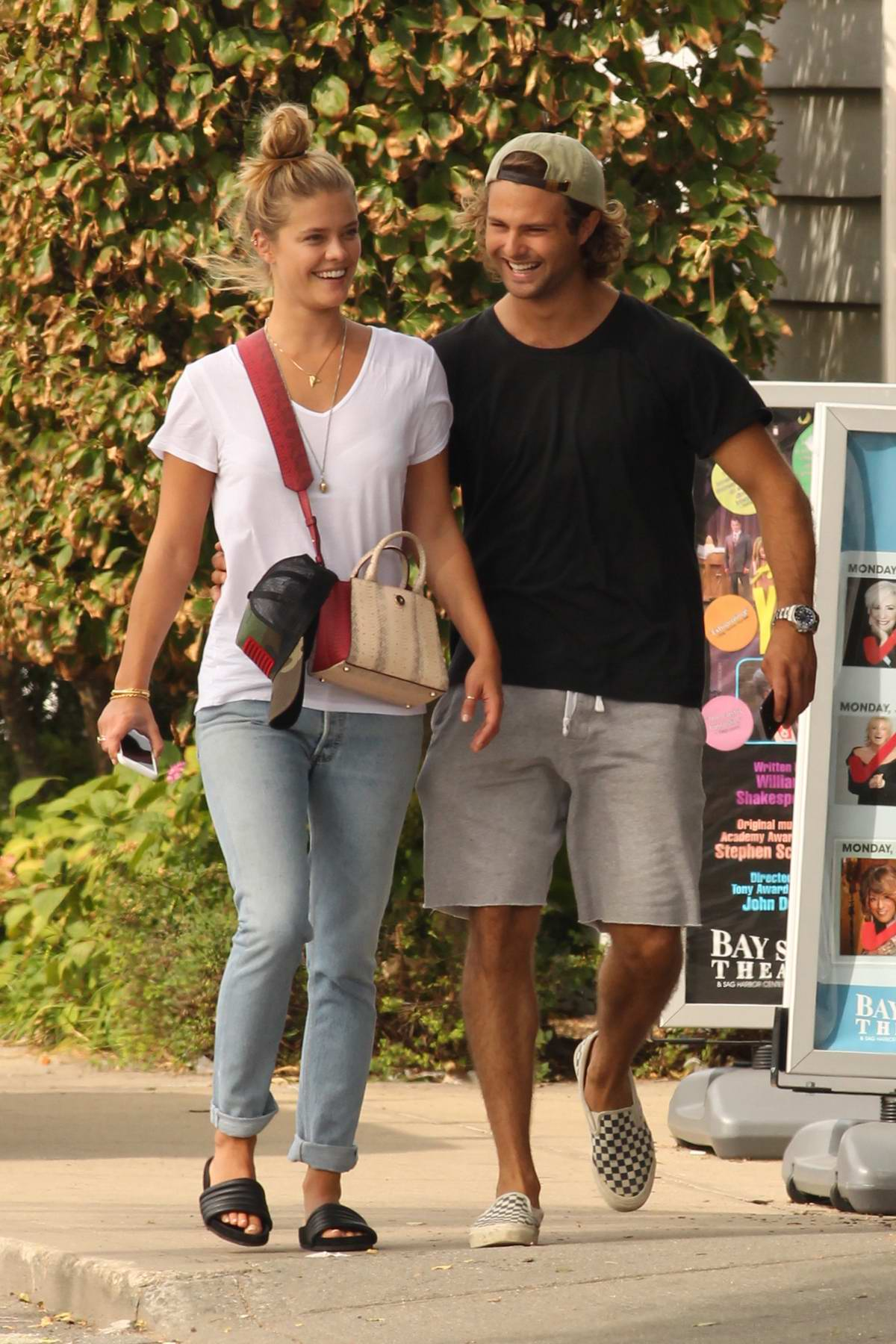 Nina Agdal and Jack Brinkley spotted together in Hamptons, New York