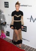 Nina Agdal at Daily Front Row Fashion Awards held at the Four Seasons hotel during New York Fashion Week