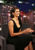 Nina Dobrev at Jimmy Kimmel Live! in Hollywood, Los Angeles