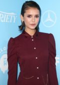 Nina Dobrev at Variety and Women in film Pre-EMMY celebration in Los Angeles