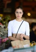 Olivia Culpo spotted leaving Erewhon Natural Foods in Los Angeles