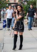 Olivia Munn spotted leaving her hotel in New York