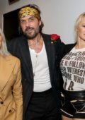 Pamela Anderson and Kim Kardashian at Vivienne Westwood x Juergen Teller exhibition opening, Spring-Summer 2018 at NYFW in New York