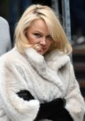 Pamela Anderson at House of Mystery photo call with Hans Klok and Pamela Anderson in Cologne, Germany