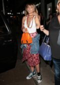 Paris Jackson shows off her new tattoo in New York City