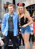 Peyton Roi List and new boyfriend Cameron Monaghan are adorable on a Disneyland date in Los Angeles