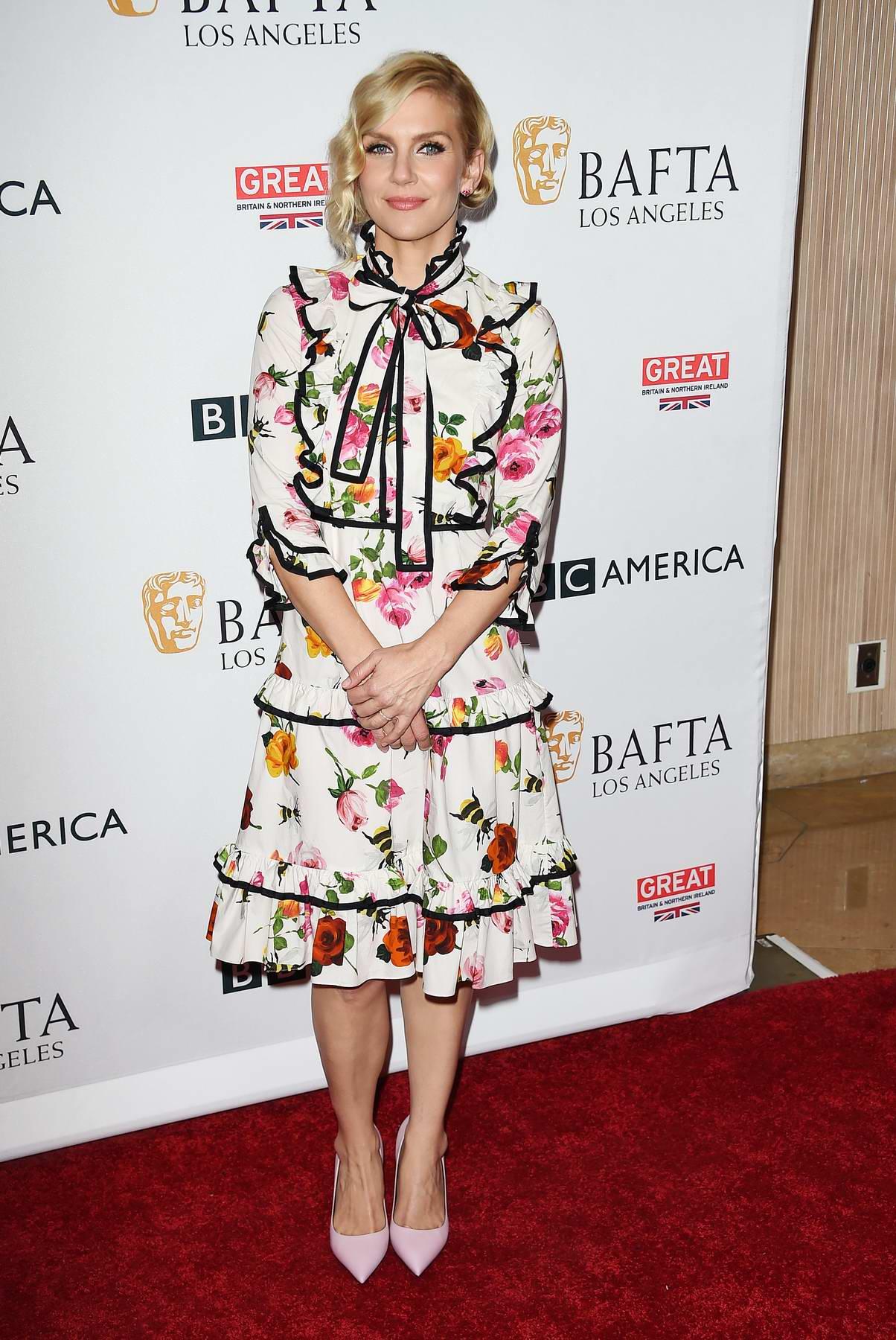Rhea Seehorn at BBC America BAFTA TV Tea Party in Los Angeles