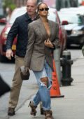 Rihanna out and about During New York Fashion Week in New York City