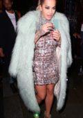 Rita Ora at LOVE Magazine X Miu Miu party during London Fashion Week in London