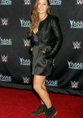 Ronda Rousey at the WWE presents Mae Young Classic Finale in Las Vegas