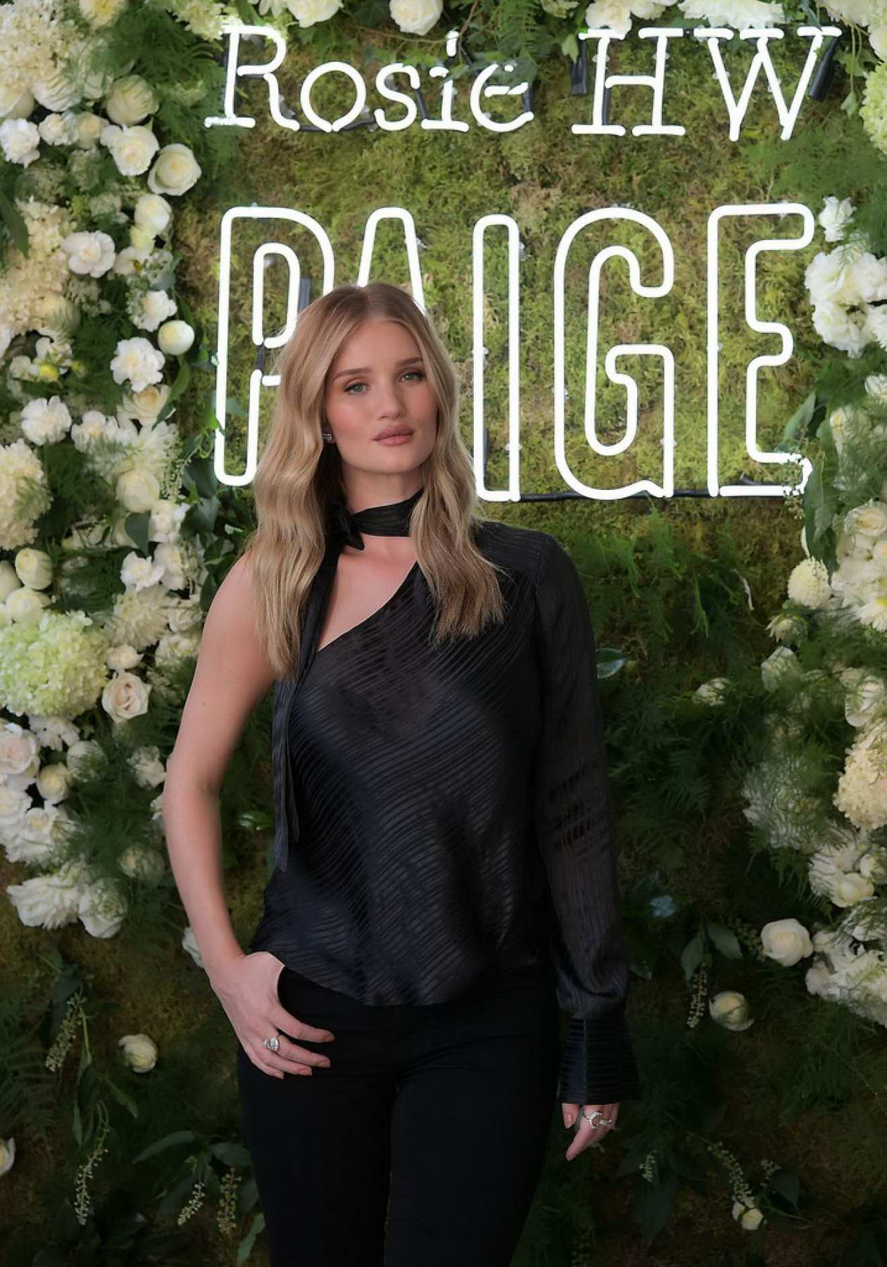 Rosie Huntington-Whiteley at Rosie HW x Paige Fall Collection 2017 launch in Los Angeles